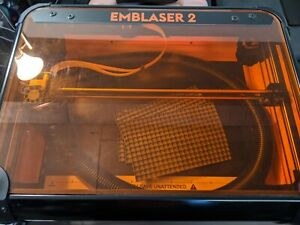 Emblaser 2 Laser Cutter Engraver w Air Assist Improved Laser Accessories