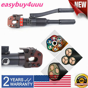 6t Hydraulic Cable Cutter Cutting Tool steel wire Rope Copper aluminum