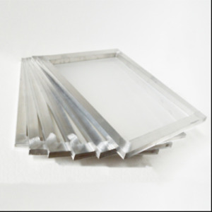 6pcs 23 31 Screen Frame With 160 Mesh White