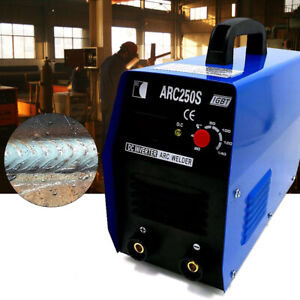 250amp Stick arc mma Dc Inverter Welder Igbt Electric Welding Machine 110v