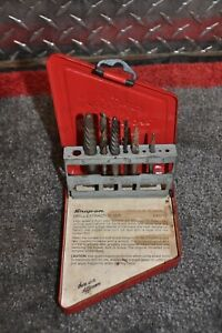 Snap On 9 Pc Exdl10 Left Hand Extractor Set
