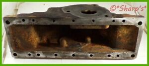 B3411r John Deere 50 520 530 Radiator Tank No Broken Bolts Lower Clean