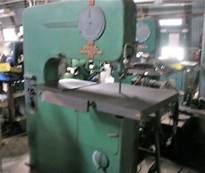 Doall Vertical Band Saw 36