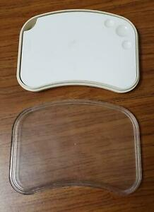 Dental Porcelain Mixing Ceramic Watering Wet Tray Plate With Box