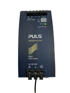 Puls Qs10 241 Dc Power Supply Input 100 240v Output 240w 24v 10a Free Shipping