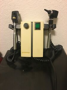 Welch Allyn Otoscope 74710 Wall Mount With Heads