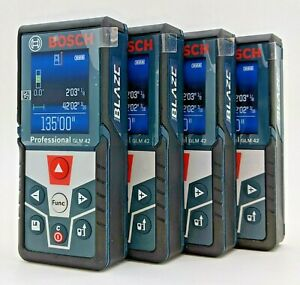 Bosch Glm 42 Blaze Laser Measure 135ft 40m With Full Color Display