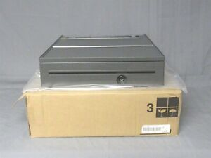 New Toshiba Ibm Pos Cash Drawer Iron Grey 80y3232