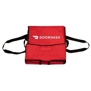 Doordash Official Pizza Delivery Bag Insulated Bag