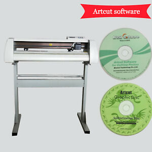 Brand New Cutting Plotter Vinyl Cutter Gjd 720 Artcut 2009 Software Best