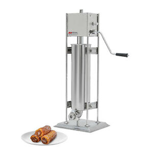 Churro Maker Vertical Type Machine Stainless Steel Manual Control 7l
