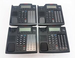 Lot Of 29 Esi 48 Key H Dfp Business Phones W Handsets Stands