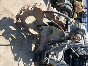 Bobcat Trench Compactor Attachment Excellent Condtion