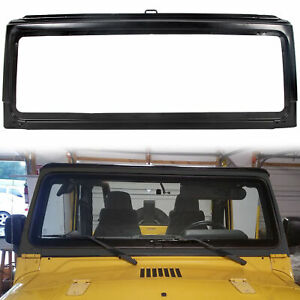New Front Windshield Frame For 2003 2004 2005 2006 03 04 05 06 Jeep Wrangler