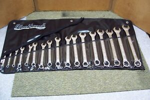 Blackhawk By Proto Mf 017m 12 Point Metric Combination Wrench Set 17 Pieces