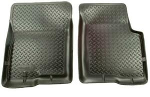 Husky Liners 80 96 For Ford Bronco Full Size Classic Style Black Floor Liners