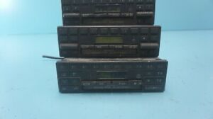 Mercedes W123 W126 R107 Becker Grand Prix Radio Lot Of 3 Pieces For Parts