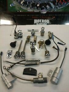 Early Ford V8 Parts Lot 32 48 Misc