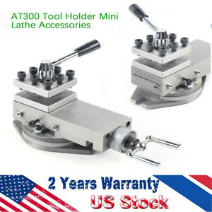 upgrade 1 at300 Lathe Tool Post Assembly Holder Metalworking Mini Lathe Part