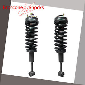For 2007 2010 Ford Explorer Sport Trac Front Pair Complete Shocks Struts