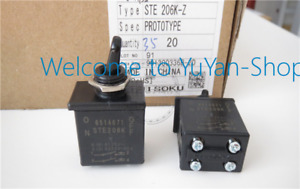1pc New Fujisoku Ste206k 3a 250v Power Toggle Switch 2 Positions 4pins va86 Ch
