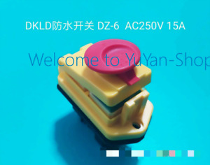 1pc New Dkld Dz05 Ipp5 Ac400v 10a Waterproof On Off Pushbutton Switch va83 Ch