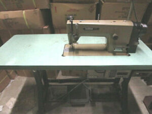 Brother Exedra Industrial Sewing Machine Db2 b737 903 With Table 3 Phase
