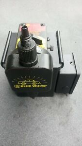 Blue White Chem Feed Injector Pump Industries Motor Operated Water Rm500 C 1500n