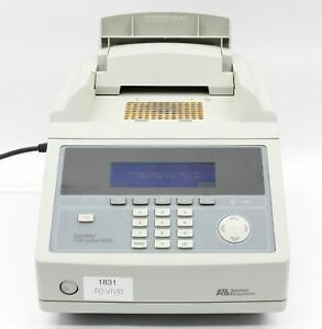 Applied Biosystems Geneamp 9700 Pcr Thermal Cycler 96 Well