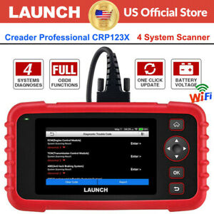 Launch Crp123x Cr529 Car Obd2 Diagnostic Scanner Code Reader Engine Abs Srs At