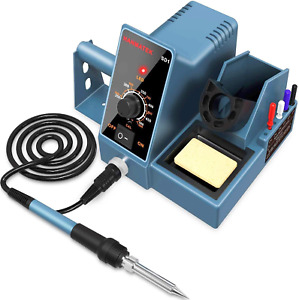 Soldering Iron Station Temperature Control Durable Welding Gun Tool Kit Solder