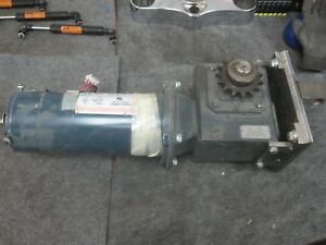 A o Smith 46605351140 2a Variable Speed Dc Motor With Us Gear Motor Type Mbq