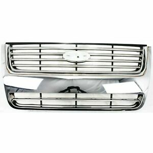 New Chrome Grille For 2006 2010 Ford Explorer Fo1200476 Ships Today