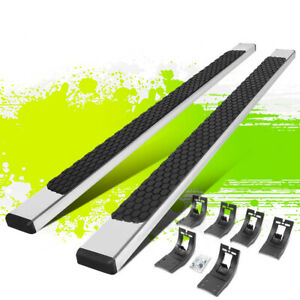 5 Polished Flat Step Nerf Bar Running Boards For Dodge Ram Extended Cab 09 20