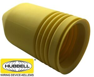 Hubbell 77cm16 Marine Plug Boot Cover For Electrical Twist Lock 63cm65