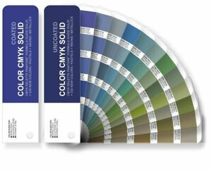 2 155 Pantone For Process Printing Set Coated uncoated