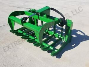 John Deere Compact Tractor 48 Root Grapple Bucket 100 Usa Components