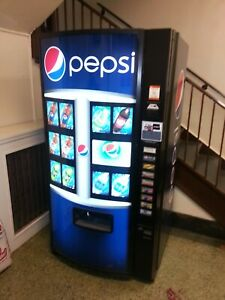 Vendo 601 Soda Vending Machine Pepsi Graphic