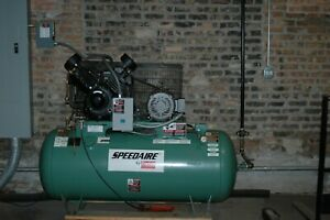 Speedaire 2 stage Air Compressor 10 Hp 120 Gal 175 Psi 3 Phase