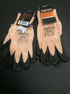 Body Guard Safety Gear Work Gloves Sz M Dyneema By Memphis New W tag Lot Of 2