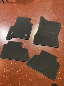 Gm Oem Carpet Floor Mats Carpet Liners 2014 2018 Silverado Sierra Truck Set Gray