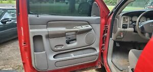 Oem 2002 2005 Dodge Ram 1500 Single Cab Front Door Panels Tan 2003 2004