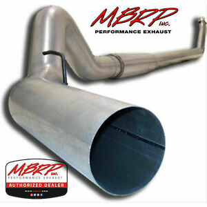 Mbrp S61120al 5 Turbo Back Exhaust 1994 2002 Dodge Ram 2500 3500 5 9l With Tip