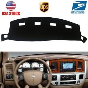 Car Dashboard Cover Dash Mat Pad Fits For Dodge Ram 1500 2500 3500 2002 2008