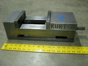 Kurt Angle Lock Versitile 6 Inch Vise For Milling Machine Work Holding