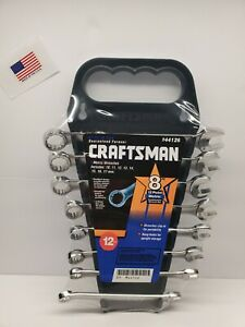 Craftsman 8 Piece Metric Combination Wrench Set Usa New Old Stock