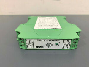 New Phoenix Contact Mcr fl c ui 2ui dci Signal Conditioner 2814854