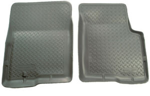 Husky Liners 80 96 For Ford Bronco Full Size Classic Style Gray Floor Liners