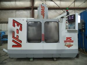 1996 Haas Model Vf 3 Vertical Machining Center Vmc W New Spindle In 2018