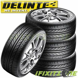 4 Delinte Thunder D7 225 40zr18 92w All Season Performance 40k Mi Warranty Tires